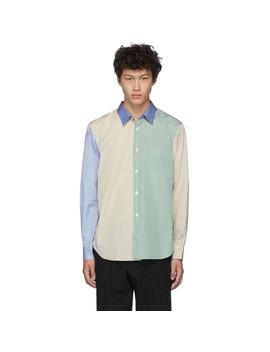 Multicolor Broad Stripe Shirt by Comme Des GarÇons Homme Deux