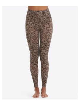 Plus Look At Me Now Seamless Leopard Print Leggings by Spanx