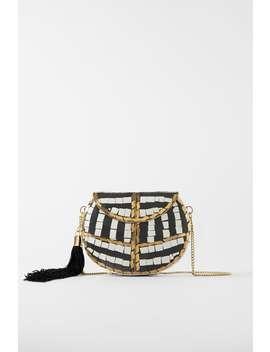 Beaded MinaudiÈre Crossbody Bag  Bagswoman Shoes &Amp; Bags by Zara