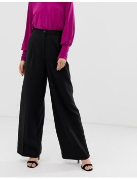 Soaked In Luxury   Pantaloni Con Fondo Ampio by Asos