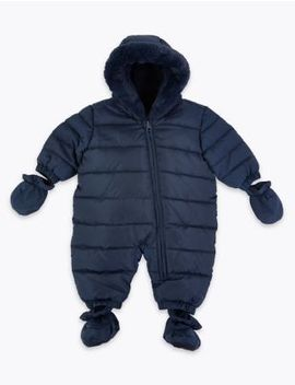 Hooded Snowsuit by Marks & Spencer