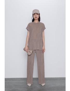 Pleated Trousers Trouserswoman by Zara