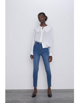 Jeans Zw Premium High Waist Skinny Sunrise Blue by Zara