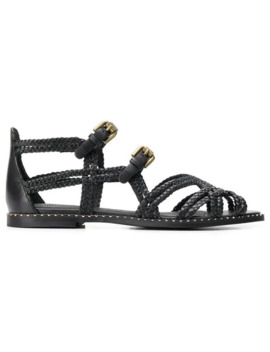 Woven Strappy Sandals by See By Chloé