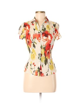 Short Sleeve Silk Top by Emanuel Ungaro