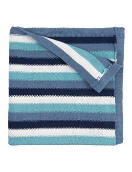 Elegant Baby® Cotton Stripe Blanket by Elegant Baby