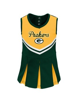 Nfl Green Bay Packers Infant/ Toddler In The Spirit Cheer Set by Nfl