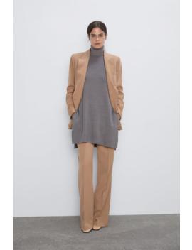 High Neck Sweater Tops Knitwear Woman by Zara