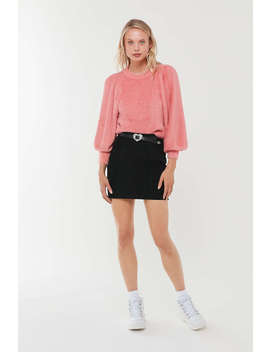 For Love & Lemons Whitney Balloon Sleeve Sweater by For Love &Amp; Lemons