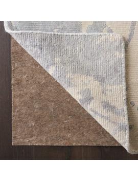 Nourison Reversible Non Slip Dual Surface Rug Pad   Tan, 6'x9' by Nourison