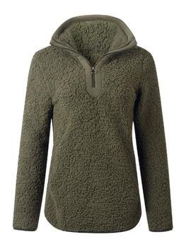 'tara' Pink Half Zip Fleece Pullover (5 Colors) by Goodnight Macaroon
