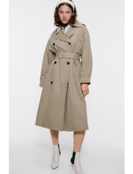 Oversized Trenchcoat Parkas Coats Woman by Zara