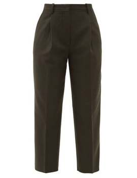 Trea Wool Blend Straight Leg Tailored Trousers by Acne Studios