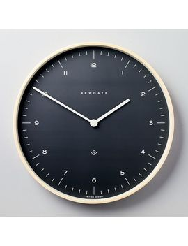 Mr. Clarke Clock   Large (Oil Gray) by West Elm