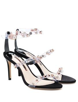 Rosalind Crystal Embellished Sandals by Sophia Webster