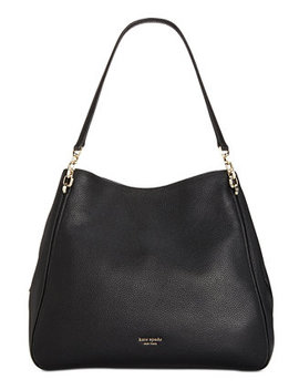 Hailey Leather Shoulder Bag by General
