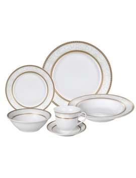 Lorren Home Trends Amelia Porcelain Dinnerware Set (Service For 4) by Lorren Home Trend