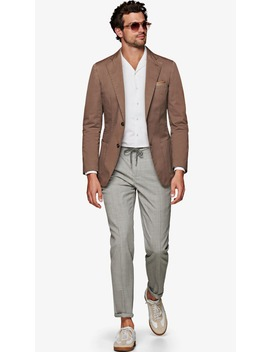 Havana Taupe Jacket by Suitsupply