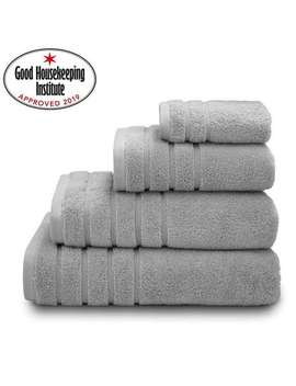 Soft Grey Ultimate Towel by Dunelm