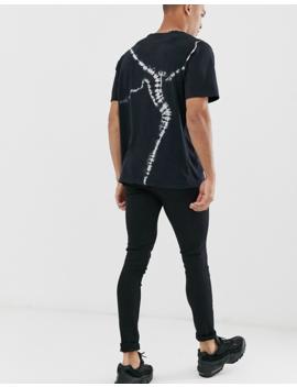 Pull&Bear – Turtleing Stones – Schwarzes, Bedrucktes T Shirt by Asos