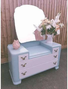 Beautiful Antique 1920s Dressing Table by Etsy