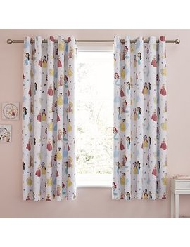 Disney Princess Blackout Eyelet Curtains by Dunelm