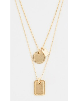 Keaton Layer Necklace by Madewell