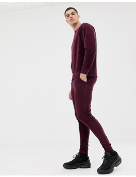 Only & Sons Velour Crew Neck Sweat by Only & Sons