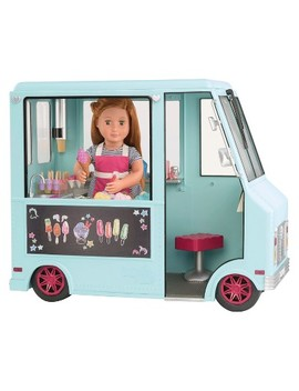 Our Generation® Sweet Stop Ice Cream Truck   Light Blue by Light Blue