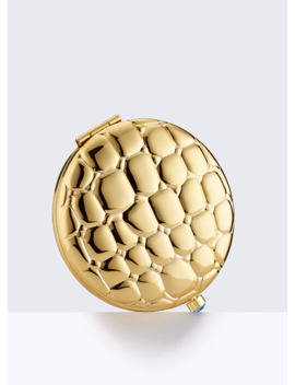 Golden Alligator Compact by Estee Lauder