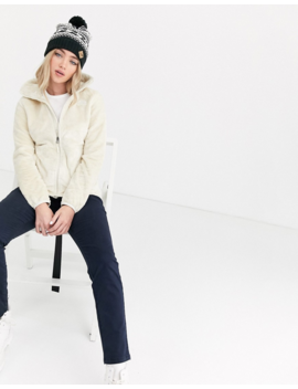 The North Face – Osito – Weiße Jacke by Asos