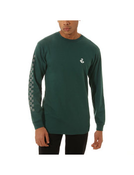 Vans X Harry Potter™ Slytherin Long Sleeve T Shirt by Vans