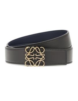 Leather Belt by Loewe