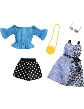 Barbie Polka Dot Mix Outfit Fashion Pack With Accessories by Barbie