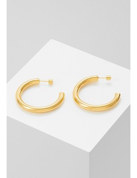 Basic Large Hoop Earrings   Ohrringe   Gold by Astrid & Miyu