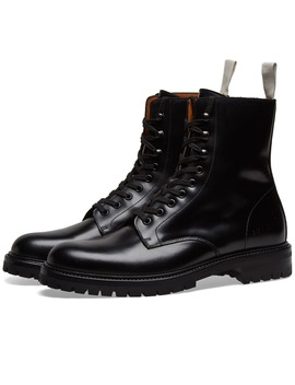 Common Projects Lug Sole Combat Boot by Common Projects'