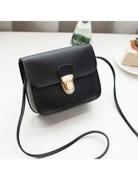 Boliyashi   Faux Leather Crossbody Bag by Boliyashi