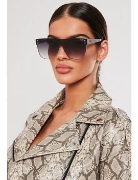 Quay Australia Black Fade Phantom Sunglasses by Missguided
