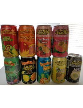 Hawaiian Sun Aloha Maid Fruit Drink Sample 6 Pack Of 11.5 Oz Cans Natural Hawaii by Ebay Seller
