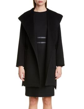Rialto Hooded Camel Hair Coat by Max Mara