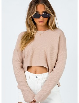 Leilani Jumper Beige by Princess Polly