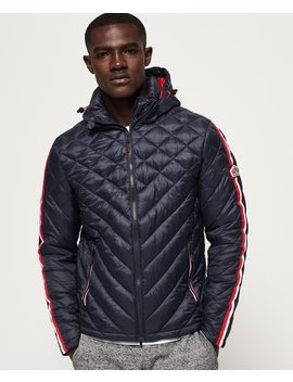 Quilt Fade Fuji Jacket by Superdry
