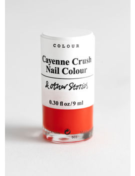 Cayenne Crush Nail Polish by & Other Stories
