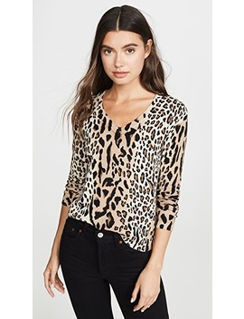 Leopard Print Pullover by Atm Anthony Thomas Melillo