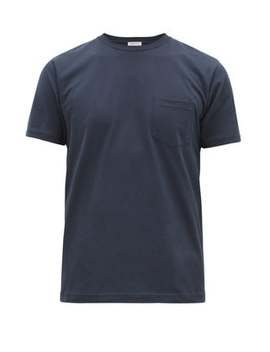 Riviera Cotton Jersey T Shirt by Sunspel