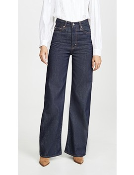 Ribcage Wide Leg Jeans by Levi's