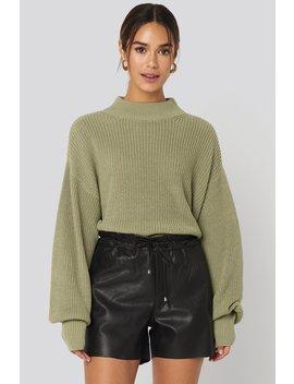 Paperbag Shorts Black by Mango