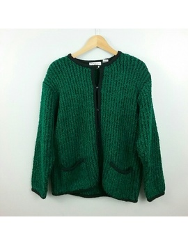 Bramble Lane//Green Vintage Cardigan by Bramble Lane
