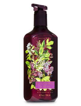Blackberries & Basil   Gel Hand Soap    by Bath & Body Works