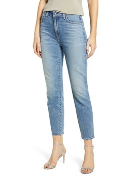 High Waist Crop Slim Jeans by 7 For All Mankind®